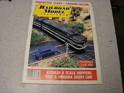 Railroad Model Craftsman magazine October 1987