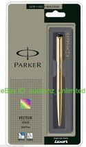 Parker Vector Gold GT Ball Pen BallPen - Brand New Sealed - 100% Original - $14.99