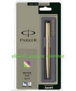Parker Vector Gold GT Ball Pen BallPen - Brand New Sealed - 100% Original - $14.99