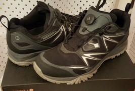 Merrell Men's Capra Bolt Air Boa Black Trail Hiking Training Shoes Men's Size 12 - $79.99