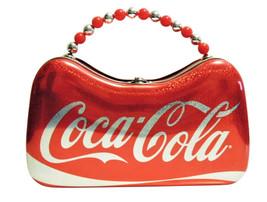 "Coca Cola Tin Purse by Tin Box Company, 8.5"" x 5"" x 3"", Brand New image 1"