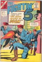 The Fightin' 5 Comic Book #31, Charlton Comics 1965 VERY GOOD+ - $7.38