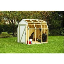 2x4 Basics Shed Kit with Barn Style Roof - $76.16