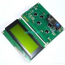 IIC/I2C 2004 LCD Display Module Yellow Green Screen For Arduino - $6.86
