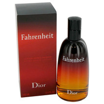 Christian Dior Fahrenheit Aftershave Lotion 3.4 Oz  image 1