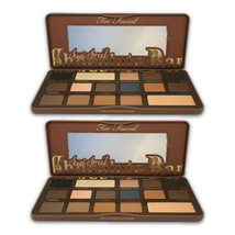 Too Faced Semi-Sweet Chocolate Bar Eye Shadow Collection - LOT OF 2 - $87.12
