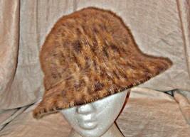 STYLISH VINTAGE 'KANGOL' DESIGN CLOCHE SHAPED COSY HAT HONEY SHADES SMAR... - $17.41