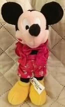 "Walt Disney World Valentine 2002 Mickey Bean bag 8"" - $13.86"
