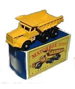 1960s Matchbox No 6 Euclid Quarry Truck in Box - $32.95