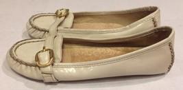 Michael Kors Ivory Leather Ballet Flats Shoes W... - $23.36