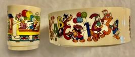 DISNEY Vintage MICKEY Train Snack'N Fun Time Bowl & Cup Child Set  **MIN... - $19.98