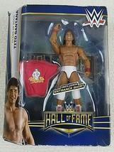 WWE Mattel Elite Hall Of Fame Series TITO SANTANA Action Figure Elite Collection - $15.83