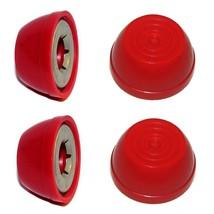 "Red Radio Flyer Steel  Wood Wagon Replacement Large 1/2"" Wheel Hub Caps,... - $18.96"