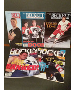 Lot of 5 - 1995-1998 Beckett Hockey Magazines - Wayne Gretzky - $9.45