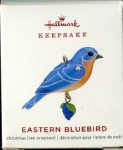 "2019 Hallmark Keepsake ""EASTERN BLUEBIRD"" Miniature Ornament - $9.89"