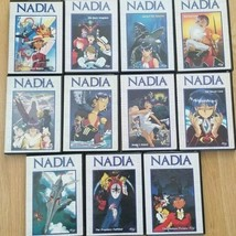NADIA THE SECRET OF BLUE WATER  Complete 10 Disc series + The Movie Like... - $54.45