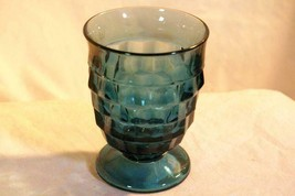 Colony Whitehall Riviera Blue 9 oz Footed Tumbler - $6.29
