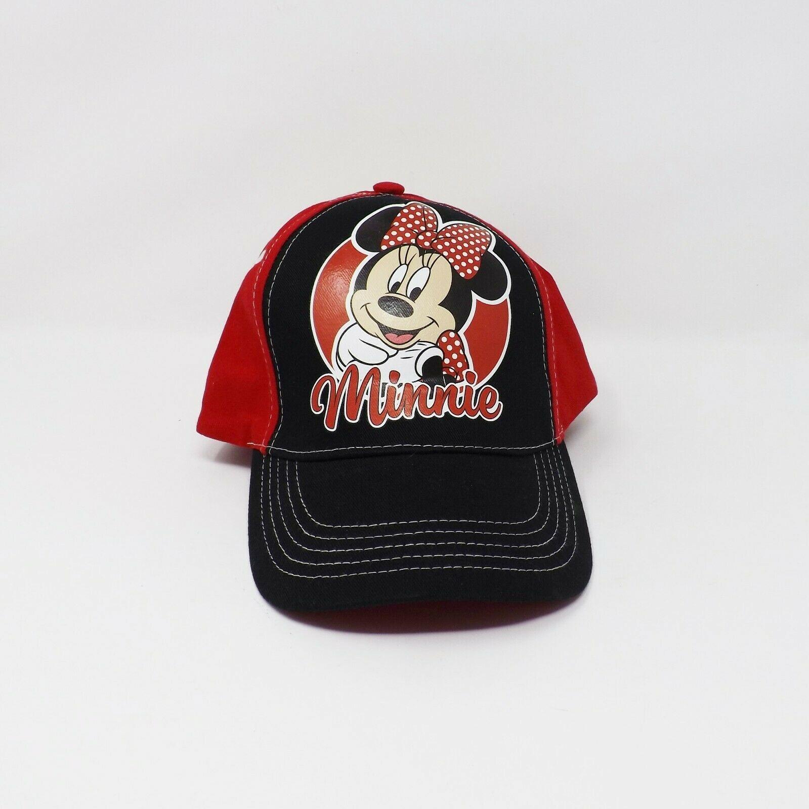 Child's Disney Minnie Mouse Red / Black Baseball Cap - New