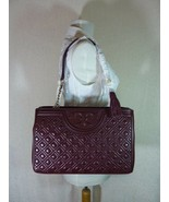NWT Tory Burch Port Royal Fleming Open Shoulder Tote - $491.75