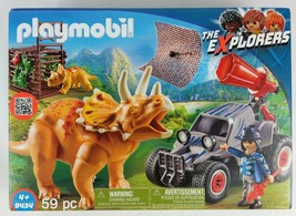 PLAYMOBIL® 9434 Off-roader with dino net - NEW 2018 - Free Shipping - $28.04