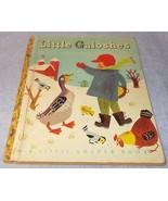 Vintage Little Golden Book Little Galoshes No 68 1949 B Printing - $14.95