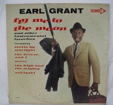 Vintage Earl Grant Fly Me To The Moon LP Vinyl Record DL 4454 - $5.93