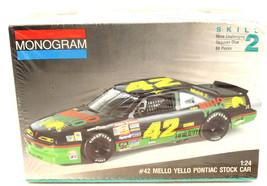 Vintage 1991 Monogram Kyle Petty #42 Pontiac Stock Car Mello Yello 1:24 ... - $11.29