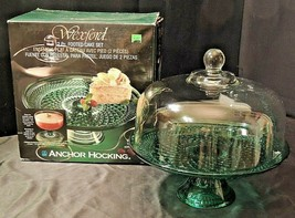 Wexford Footed Cake Set (2 Pc) AA20-7185 Vintage - $99.95