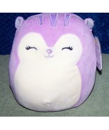"Squishmallows SYDNEE the Purple & White Squirrel 8""H New - $15.88"