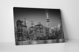 "New York Manhattan II Skyline Gallery Wrapped Canvas Print 30""x20"" or 20... - $43.75+"
