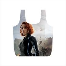 Recycle Bag avengers black widow work gym grocery handbag - $18.00+