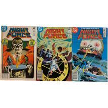 ~DC Comics~ Night Force 3 Issue Lot #1, 2, 3 1982 - $9.89