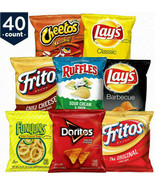 FRITO LAY PARTY MIX VARIETY PACK 40 COUNT  BRAND NEW EXPEDITED SHIPPING - $21.77