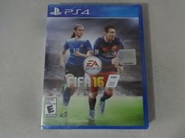 NIP EA Sports FIFA 16 Sony Playstation 4 PS4 Game New Sealed Free Ship image 1