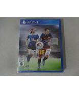 NIP EA Sports FIFA 16 Sony Playstation 4 PS4 Game New Sealed Free Ship - $17.81