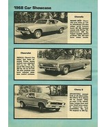 1968 Chevy Car show case line up 24x36 inch poster |  - $21.77