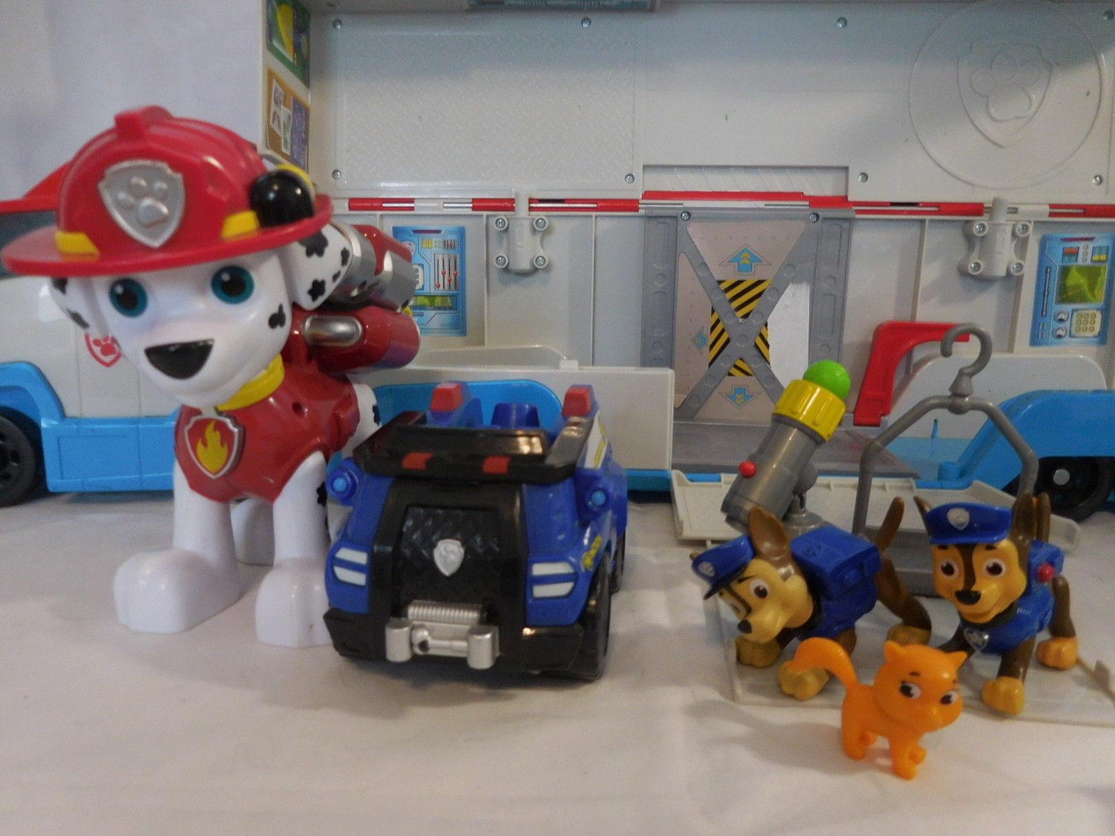 Paw Patrol Patroller Ryder Vehicle Rescue Truck + Police Training Center + Jumbo