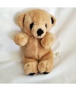 Mary Meyer Stuffed Plush Teddy Bear Vintage Beige Tan Brown Black Gund S... - $39.59