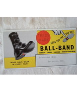 Vintage Advertising Blotter ~ Ball-Brand Shoes ~ Schroeder B - $4.00