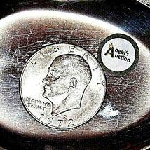 Eisenhower 1972 D Silver Dollar AA19$-CN6010 image 3
