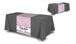 Custom Table Runner wih logo 2'x6' customize yours for free with any logo or Txt image 5