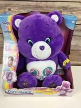 Care Bears Share Sing-a-Long Bear Plush *Light box wear* - $183.23