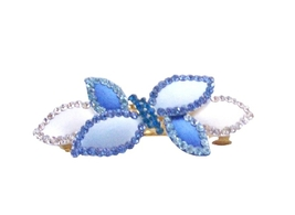 Chic Bridal Bride Maids Prom Hair Barrette Excl... - $15.98