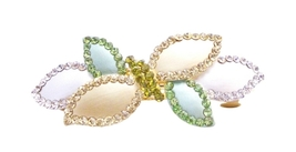 Sophisticated Vintage Influenced Hair Clips Bar... - $15.98
