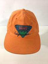 VANS OFF THE WALL HAT CAP ADJUSTABLE SNAPBACK California Native Orange - $24.74