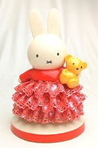 Miffy 60th.Porcelain Ceramic Lace Doll Stuffed JapanLimited Plush FiguresNEW F/S - $311.85