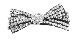 Clear Rhinestones Fully Embedded Bridal Barrett... - $12.08