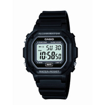 Casio Men's F108WH Illuminator Collection Black Resin Strap Digital Watch - $22.74