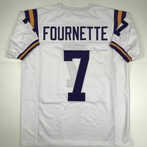New Leonard Fournette Lsu White College Custom Stitched Football Jersey Men's Xl - $49.99