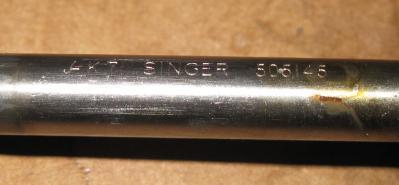 Singer 223 Presser Foot Bar, Spring, Cap & Guide